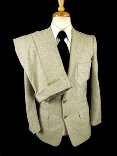 vintage 50s mens gray ATOMIC 2pc SUIT wool HOLLYWOOD 2btn fitted skinny sz 38 S | eBay