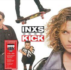 Inxs - Kick édition 25ème anniversaire en cd/dvd