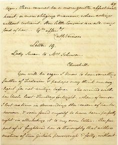 Autograph manuscript of Jane Austen's Lady Susan, written ca. 1793–94 and transcribed in fair copy soon after 1805