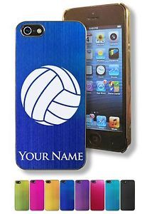Personalized Case/Cover for iPhone 5/5S - VOLLEYBALL, VOLLEY BALL