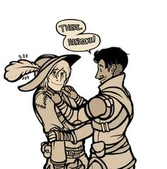 Cole gets a new hat, and you'll be the talk of Orlais! Awww. So deadly yet so adorable