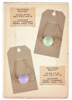IDEA: necklace card cut design