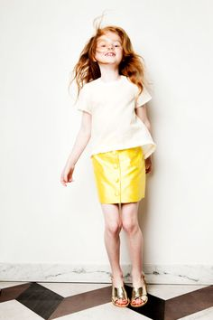 My Little Dress Up ✭ SS15  Ivy blouse | Jackie skirt
