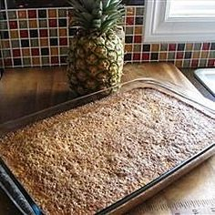 Pineapple Cake III Pineapple Upside Down Cake, Pineapple Cake, Pineapple Bread Pudding, Pina Colada Cupcakes, Drop Cookies, Crisp Recipe, Sweet Cakes, Homemade Cakes, Original Recipe