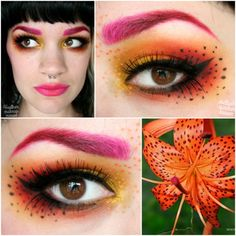 Tiger {Callow} Lily https://www.makeupbee.com/look.php?look_id=89614