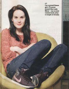 Downton Abbeys Michelle Dockery: November 24, 2013: Observer Magazine