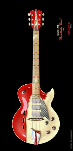J.Backlund Design Guitar
