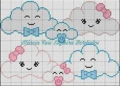 Cross stitch borders, cross stitch pillow, cross stitch for kids, cross sti Baby Cross Stitch Patterns, Cross Stitch Pillow, Cross Stitch For Kids, Cute Cross Stitch, Cross Stitch Borders, Cross Stitch Designs, Cross Stitching, Cross Stitch Embroidery, Hand Embroidery