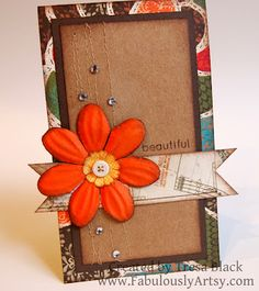 """by Tresa Black... think """"outside the card"""" with this Beyond the Borders one!"""