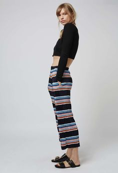 Topshop - Awkward Length Pleat Trousers