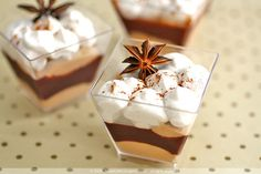 Fantastically autumn Spiced Chocolate Mouse with Cinnamon Foam. #mousse #autumn #fall #cinnamon #dessert #food #cooking #chocolate #pudding