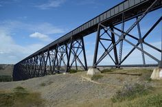 #nikond3200 #lethbridge #lethbridgeviaduct #bridge #cprail My collection of cool/interesting/inspirational artwork and photography from net