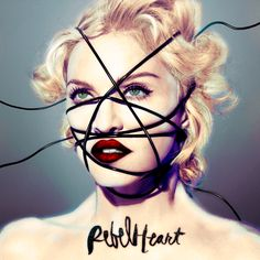 Madonna ~ Rebel Heart Album Cover in glowing color <3