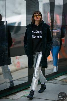 New York Fashion Week Fall 2017 Street Style: Brie Welch