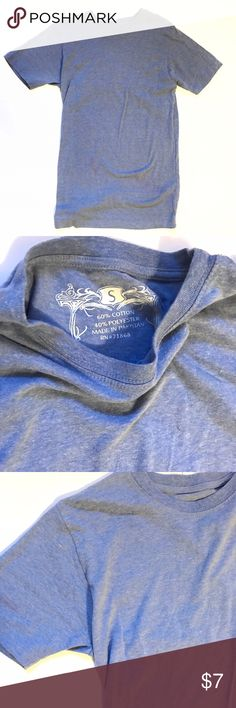 Small Baby Blue Tee This is a long tshirt but very soft and comfy. In great condition. Tshirt Tops Tees - Short Sleeve