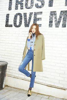 [K-ACTRESS] Lee Sung Kyung Park Min Young, Kim Sohyun, Korean Casual, Monochrome Fashion, Korean Fashion Trends, Ulzzang Fashion, Just Girl Things, Korean Actresses, Korean Outfits