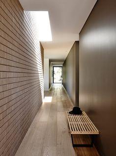 modern architecture hallway