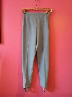Baby blue 60s Pants Ski Pants Womens Size by CestLaVieBoutique6, $30.00