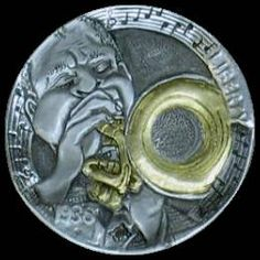 Big Cheeks by James Olivencia Big Cheeks, Wood Carving Faces, Italy Pictures, Hobo Nickel, Coin Art, Coin Jewelry, Art Forms, Metal Art, Sculpture Art