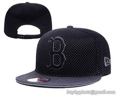 0e3bbb3cbc036 Boston Red Sox MLB Flow Flect Snapback Hats Black