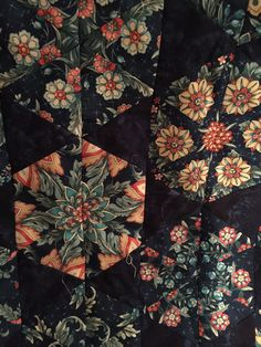 From The Quilt Board. Uses 60 degree ruler.