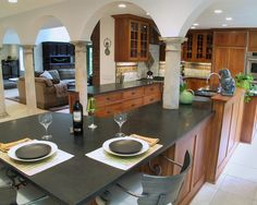 Kitchen Black Granite Design, Pictures, Remodel, Decor and Ideas - page 2