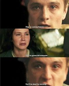 And that's it everyone! Say goodbye to Peeta forever, because that's the last you'll ever see him!