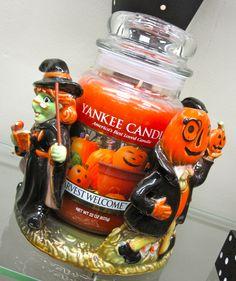 JACK O LANTERN LABEL 6 TARTS yankee candle CANDY CORN