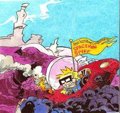 Spaceman Spiff (Calvin & Hobbes)