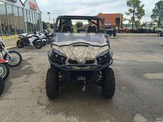 """Used 2015 Can-Am Commanderâ""""¢ XTâ""""¢ 1000 Camo ATVs For Sale in Oklahoma. Loaded with features and technology that take value to a new level, the Commanderâ""""¢ XT is built with best-in-class power, a versatile dual-level cargo box, and rider-focused features perfect for the job site or the trails. Dimensions: - Wheelbase: 75.8 in. (192.4 cm)"""
