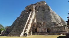 Great Pyramid at Uxmal, Yucatan, Mexico Merida, Pyramids Egypt, Mayan Cities, Bahamas Island, Mayan Ruins, Adventure Is Out There, The Magicians, Wonders Of The World