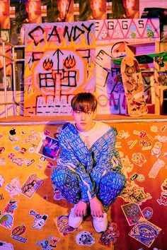 Baekhyun (EXO) révèle de nouvelles photos et un teaser MV pour « Candy Baekhyun Chanyeol, Exo Chanbaek, Exo Kai, Got7, Luhan And Kris, Candy S, Exo Members, K Idol, Korean Singer