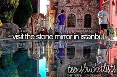 visit the stone mirror in istanbul