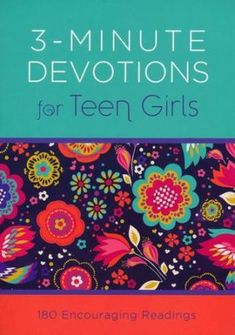 Devotions for Teen Girls: 180 Encouraging Readings - By: Compiled by Barbour Staff Barbour, Teen Birthday, Birthday Gifts, 16th Birthday, Teen Devotional, Cover Design, Stocking Stuffers For Teens, Christian Girls, Frederick Douglass
