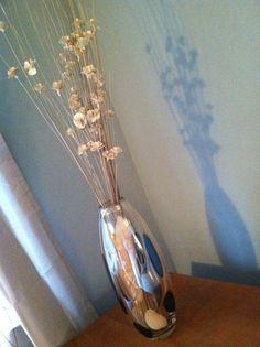 {Pier 1 metallic vase} want this look in my bedroom now!