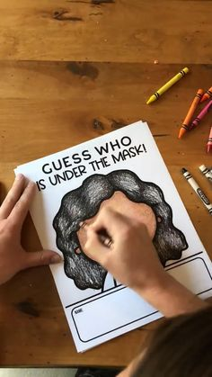 Classrooms will look a little different this year, so here is a fun way to get to know the children that are behind the masks! This activity can be used for a fun back to school and interactive bulletin board where students get to know their classmates and guess who is behind the mask based off the three clues the student provided!  #backtoschool #firstweekofschool #upperelementaryresources #classroom #classroomboard #bulletinboard #thirdgrade #fourthgrade #fifthgrade #sixthgrade Hand Crafts For Kids, Easy Preschool Crafts, Creative Activities For Kids, Preschool Activities, Diy For Kids, Family Crafts, Kindergarten Learning, Kids Learning, Science Lab Decorations