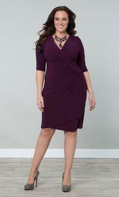 Check out the deal on Ciara Cinch Dress at Kiyonna Clothing