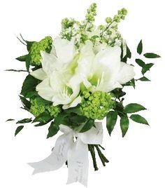 agnès b. fleuriste    Amaryllis wedding bouquet