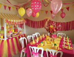 "Lemonade / Lemons / Birthday ""Abby's Lemonade Stand Party""   Catch My Party"