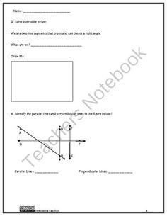 Geometry 4th Grade Assessment by Innovative Teacher