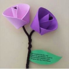 Crafts For Kids, Arts And Crafts, 3d Paper Crafts, Paper Flowers, Preschool, Valentines, Instagram Posts, Mother's Day, Craft