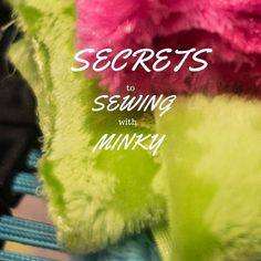 The best tips for sewing with minky fabric