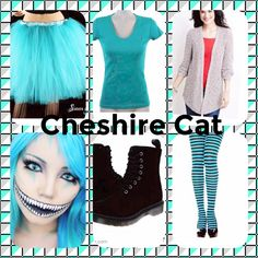 This is some stuff you may need to make an easy DIY Cheshire Cat costume hope you enjoy!