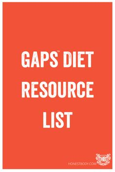 gaps resource list