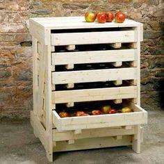 Traditional Apple Storage