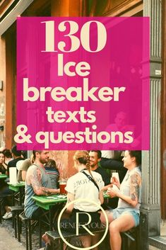 We love these ice breaker questions that make our conversations easier and much more interesting. If you have visited before, you know that we love to find ways to get to know each other better and that conversations are the key!
