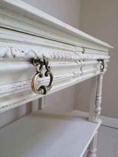 Beautiful antique French handles / Superb Antique French Painted Dessert / Frenchfinds.co.uk