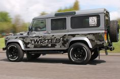 Twisted's V8 Gumball 3000 Missile, piloted by Charlie Fawcett