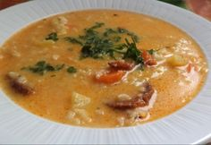 Sausage Rice, Rice Soup, Goulash, Cheeseburger Chowder, Thai Red Curry, Stew, Food And Drink, Ethnic Recipes, Soups