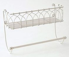 Before: Paper-Towel Holder - the link shows lots of handy craft storage ideas using unexpected items.
